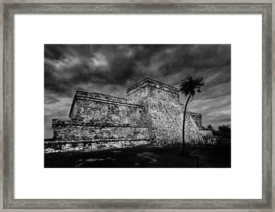 Ruin Framed Print by Julian Cook