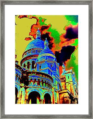 Sacre Coeur No. 02 Framed Print by Ramon Labusch