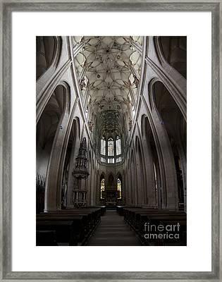 Saint Barbara Church Kutna Hora Framed Print by Michal Boubin