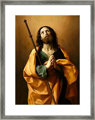 Saint James The Greater Framed Print by Guido Reni