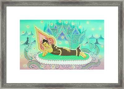 Sakayamuni Buddha 02 Framed Print by Kaewkao Titayakorn
