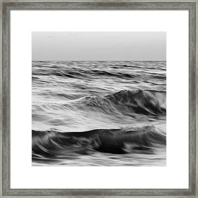 Salt Life Square 2 Framed Print by Laura Fasulo