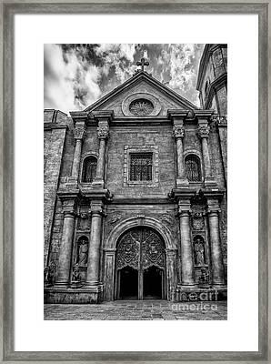 San Agustin Church  Framed Print by Adrian Evans