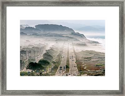San Francisco Framed Print by David Yu