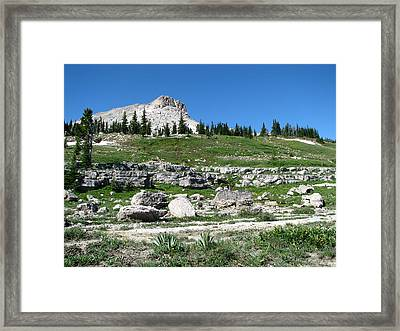 Scapegoat Amphitheater Framed Print by Pam Little