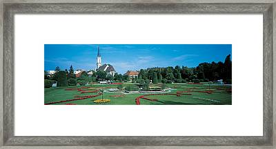 Schonbrunn Palace Vienna Austria Framed Print by Panoramic Images