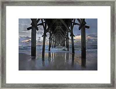 Sea Of Dreams Framed Print by Betsy C Knapp