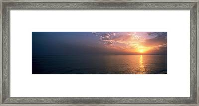 Seascape The Algarve Portugal Framed Print by Panoramic Images