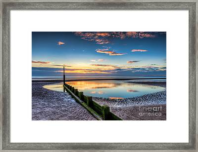 Seascape Wales Framed Print by Adrian Evans