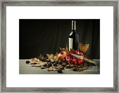 Seasonal Still-life Framed Print by Carlos Caetano