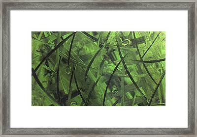 Seaweed Framed Print by Lisa Williams