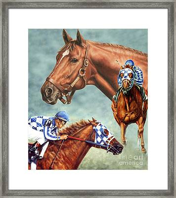 Secretariat - The Legend Framed Print by Thomas Allen Pauly
