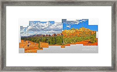 Sedona Arizona - Submarine Rock Framed Print by Gregory Dyer