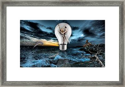Self Expression Framed Print by Marvin Blaine