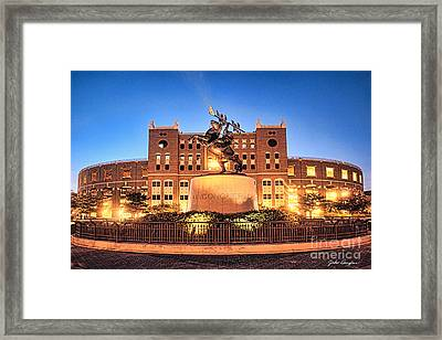 Seminole Fire - Unconquered Framed Print by John Douglas