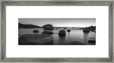 Serenity Framed Print by Brad Scott
