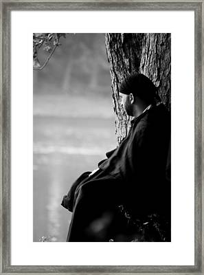 Shady Spot Framed Print by Off The Beaten Path Photography - Andrew Alexander