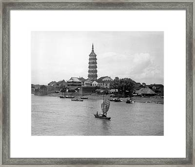 Shanghai Framed Print by Retro Images Archive