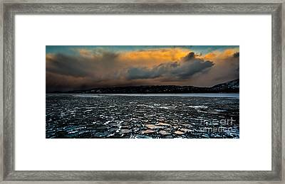 Shattered Framed Print by Mitch Shindelbower