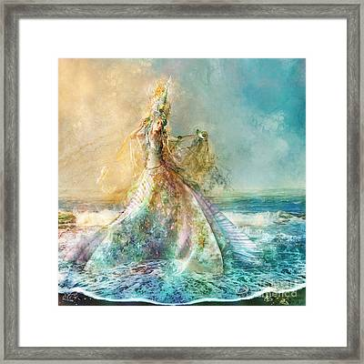 Shell Maiden Framed Print by Aimee Stewart