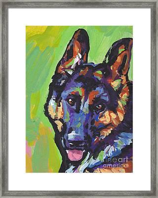 Sheppy Framed Print by Lea S