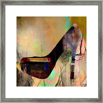 Shoe Art Framed Print by Marvin Blaine