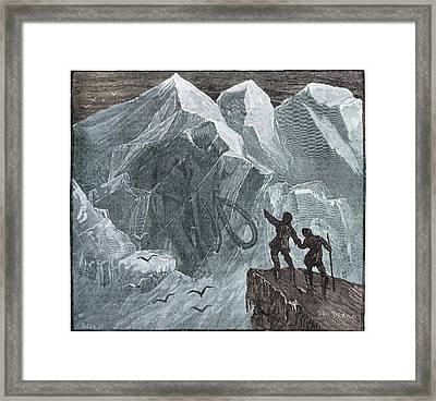 Siberian Frozen Mammoth Framed Print by Paul D Stewart