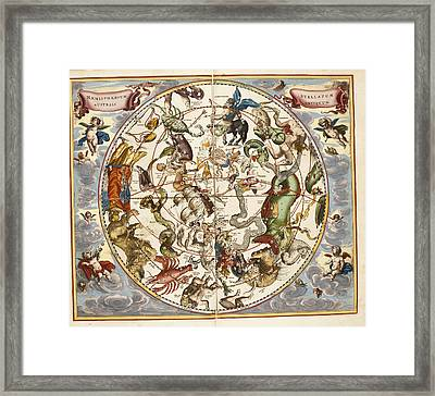 Signs Of The Zodiac Framed Print by British Library