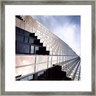 Silver And Gold Framed Print by Natasha Marco