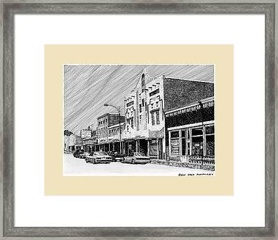 Silver City New Mexico Framed Print by Jack Pumphrey