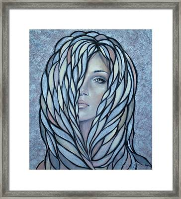 Silver Nymph 021109 Framed Print by Selena Boron