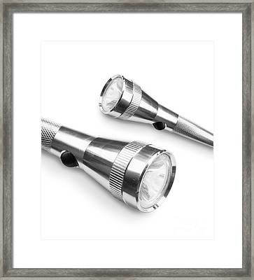 Silver Torches Framed Print by Jorgo Photography - Wall Art Gallery