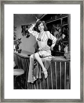Six Lessons From Madame La Zonga, Lupe Framed Print by Everett