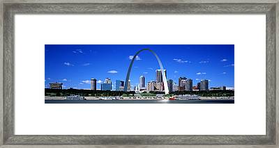 Skyline, St Louis, Mo, Usa Framed Print by Panoramic Images