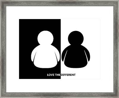 Slogan3 Framed Print by Ernesto Cinquepalmi