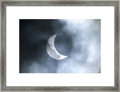 Solar Eclipse August 11 1999 Framed Print by Konrad Wothe