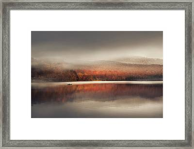 Sound Of Silence Framed Print by Magda  Bognar