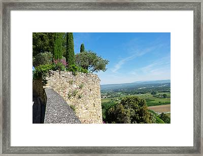 Southern France, Provence, Luberon Framed Print by Emily Wilson