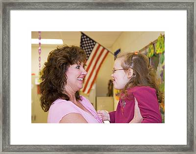 Special Education School Framed Print by Jim West
