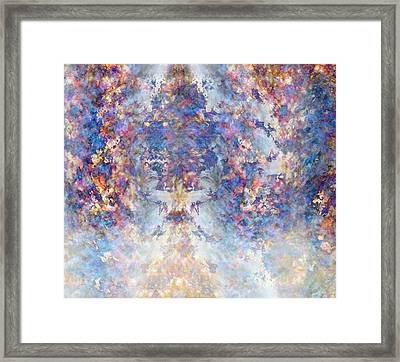 Spiritual Torrents Framed Print by Christopher Gaston