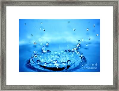 Splash Framed Print by Michal Bednarek