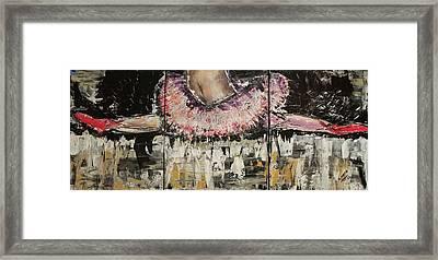 Split Endz Framed Print by Lucy Matta - LuLu
