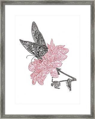 Spread Your Wings Framed Print by Paula Dickerhoff
