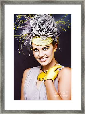 Spring Carnival Beauty Framed Print by Jorgo Photography - Wall Art Gallery
