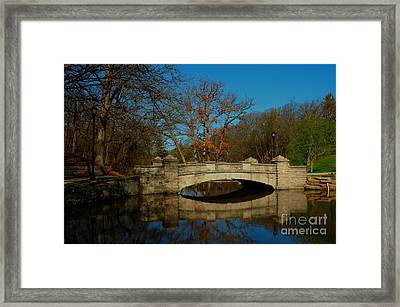 Springtime In The Park Framed Print by Bob Fromm
