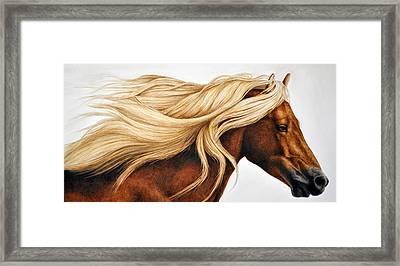 Spun Gold Framed Print by Pat Erickson