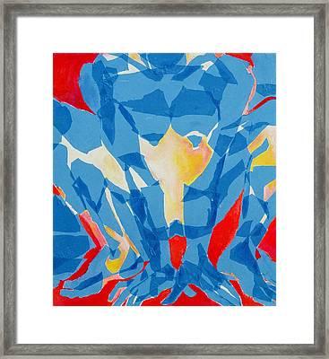 Squat Framed Print by Diane Fine