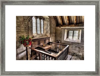 St Celynnin Church Framed Print by Adrian Evans
