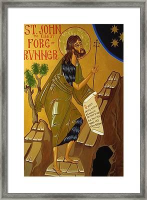 St. John The Baptist Framed Print by Joseph Malham