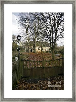 St Margaret Of Antiochs Church Linstead Framed Print by Darren Burroughs
